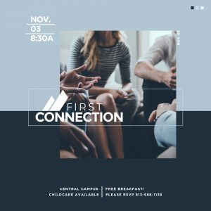NOV. 3 // FIRST CONNECTION CLASS