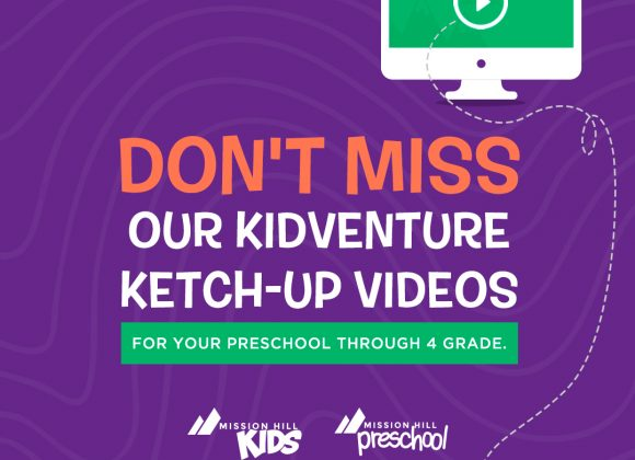 DONT MISS OUR KIDVENTURE VIDEOS