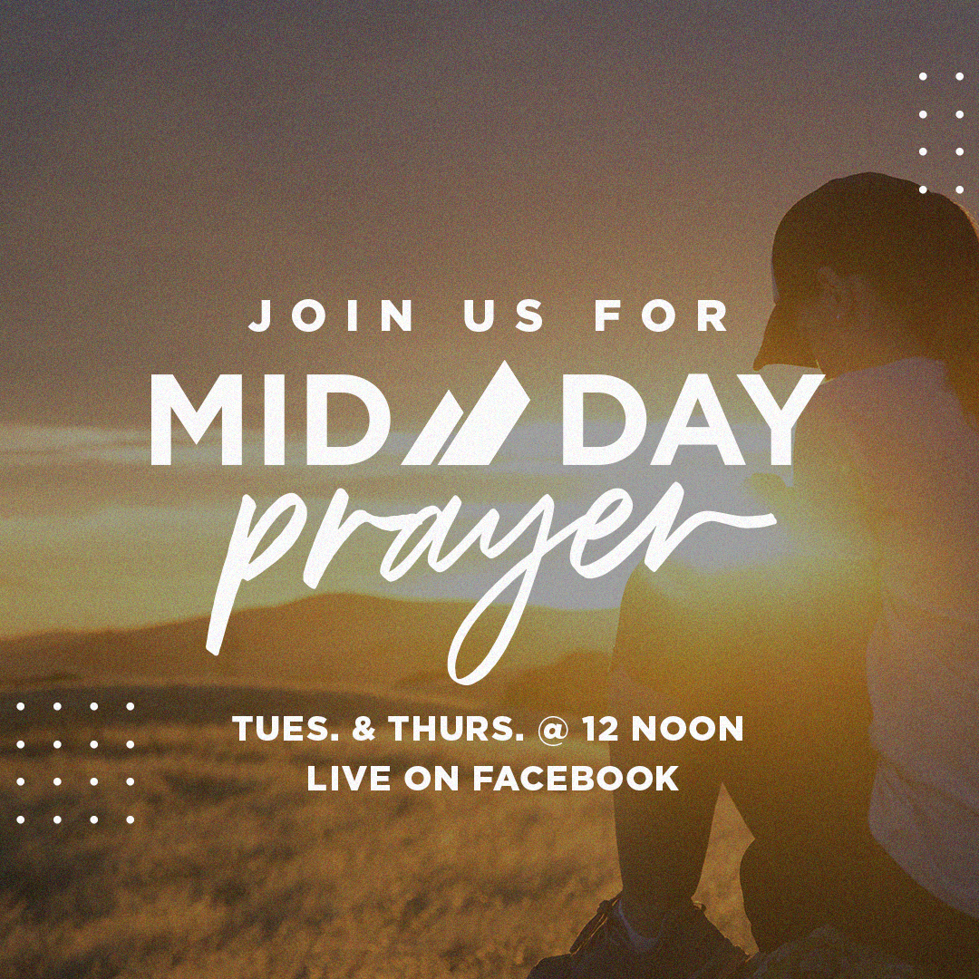EVERY TUES & THURS / MID DAY PRAYER